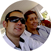 Edgar Jr. e Cleia